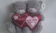 Adorable Twin Tatty Bears 'Love is for Sharing' Me to You Bears BNWT